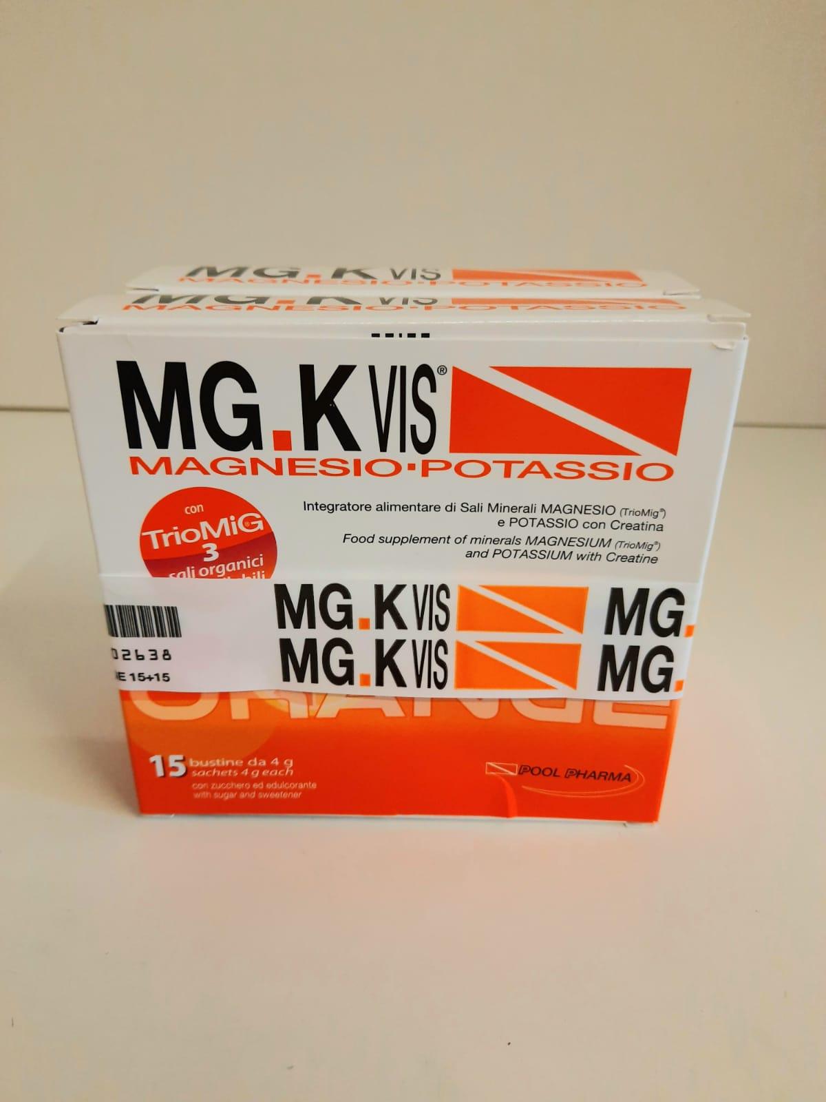 comfezione di Integratore Mg.K vis